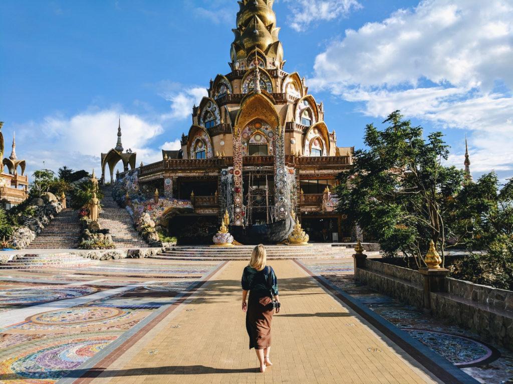 Jennifer Claesson i Thailand