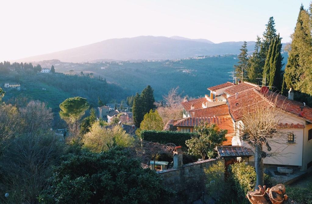 Utsikt över Fiesole, Florens