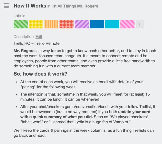 En bild som visar hur Mr. Rogers fungerar