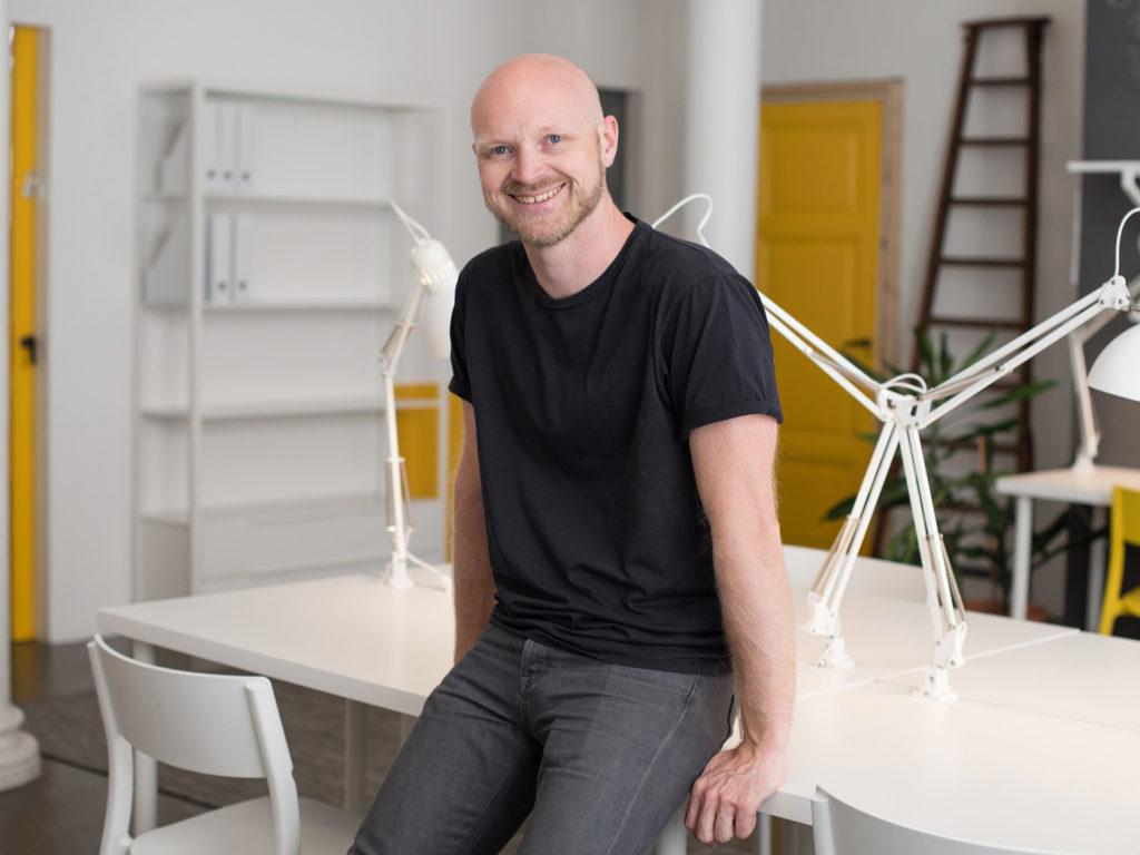 Martin Ericson från Box Space i Malmö
