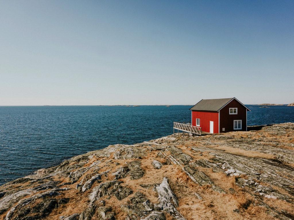 Idylliskt landskap i Sverige