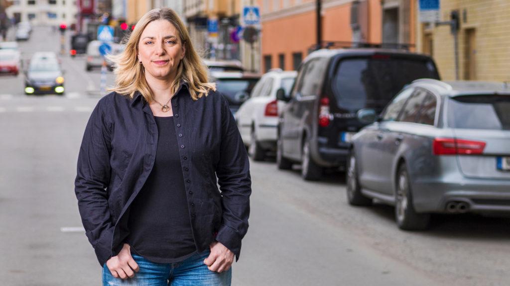 Anna Troberg, förbundsordförande på DIK