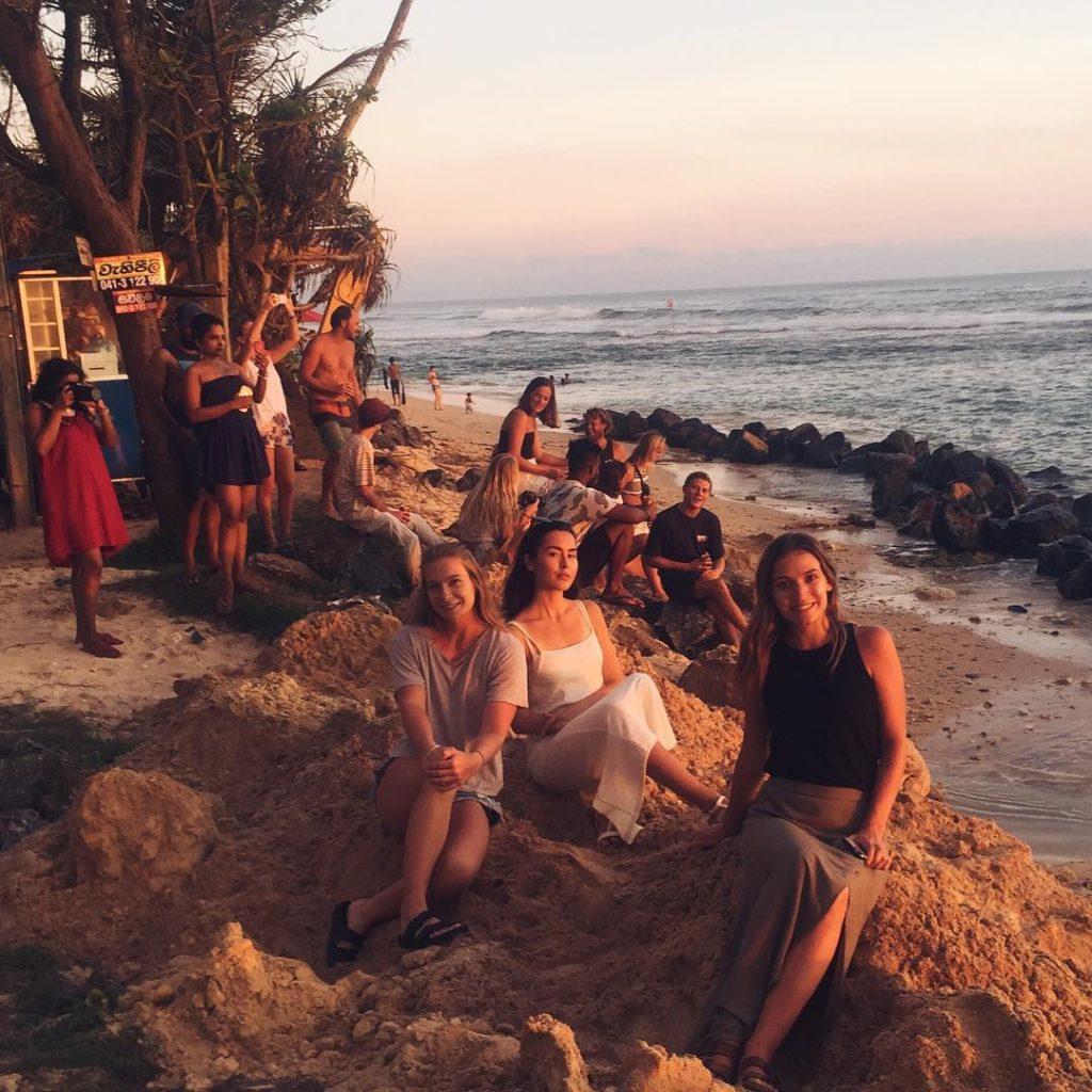 Sofia Lindman och andra digitala nomader på Sri Lanka