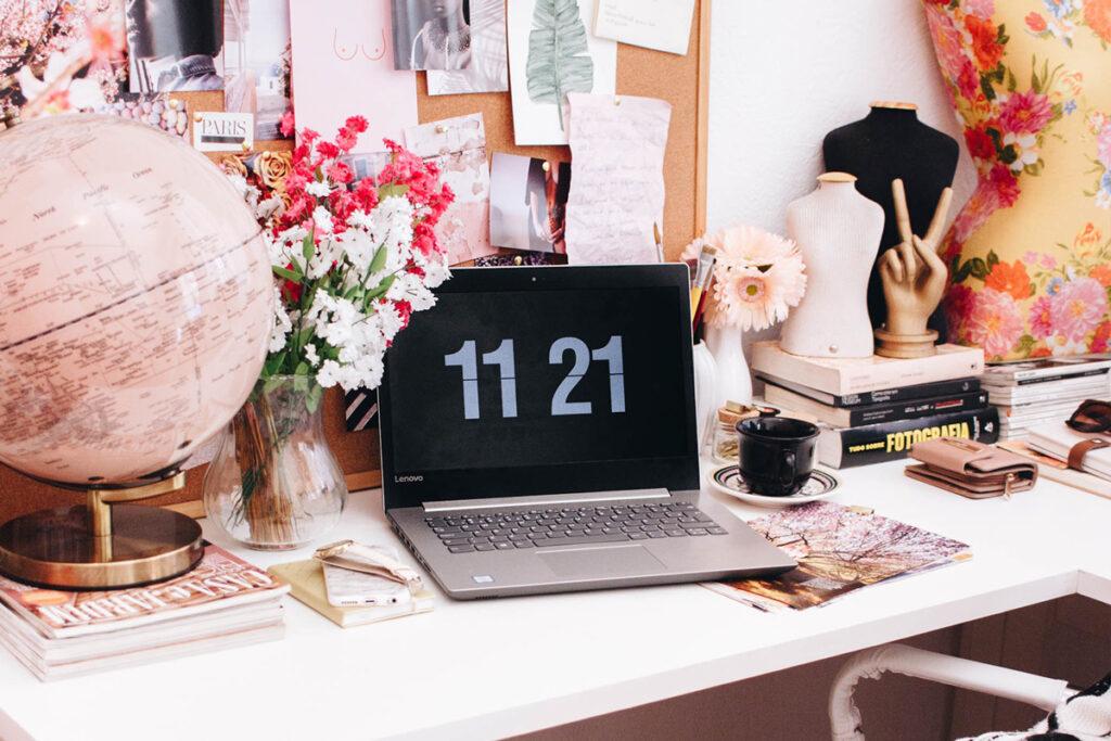 Dator hemmakontor, jobba hemifrån
