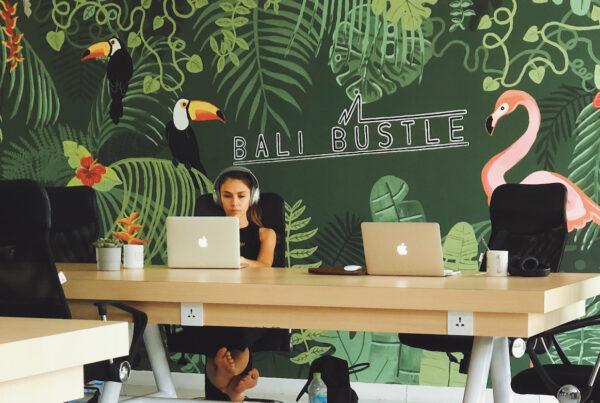 Distansjobb Bali