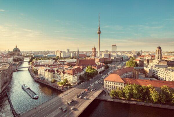 utsikt över Berlin