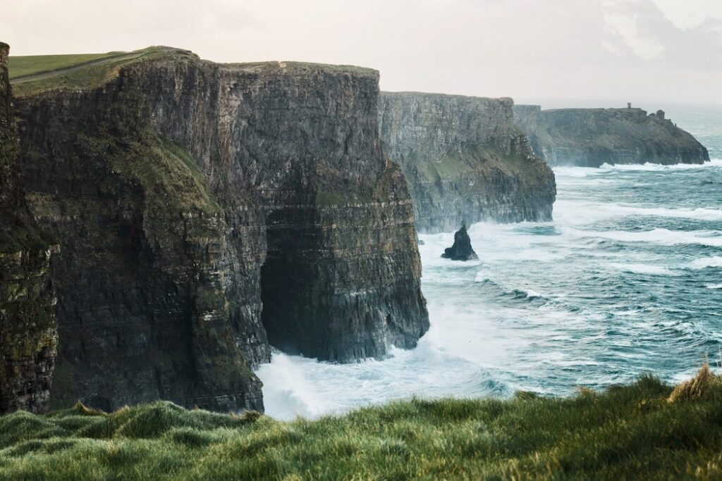 Cliffs of Moher på Irland