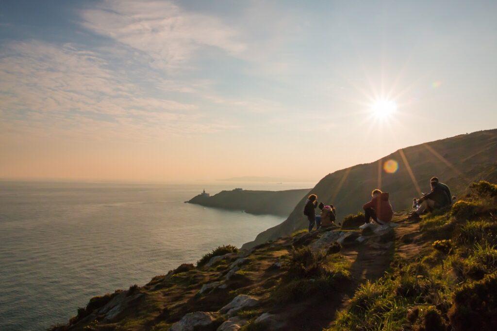 naturbild Howth, Irland