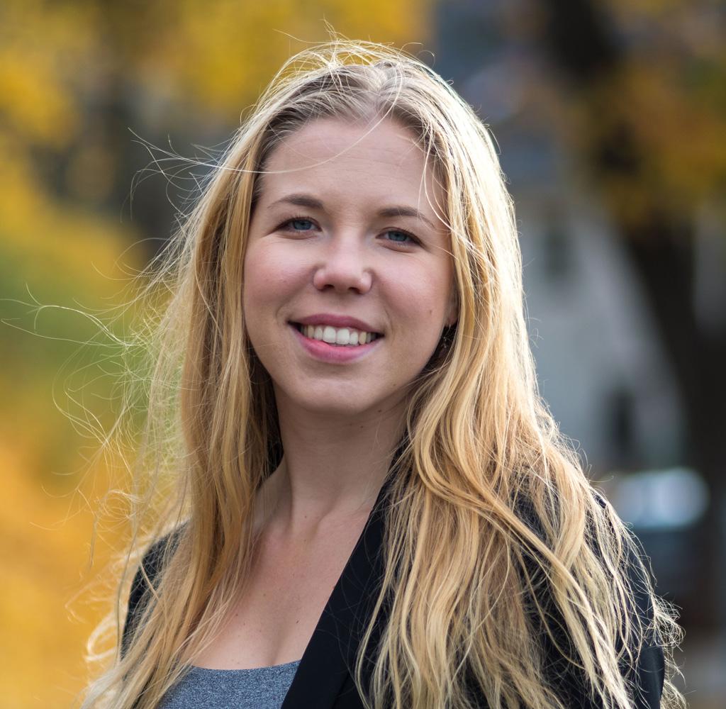 Porträtt av HR-konsulten Astrid Svedérus