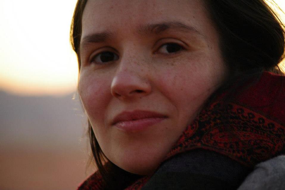 Närbild på Hanna Granroth från Spanien
