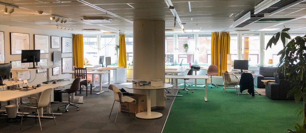 Appjobs tomma Stockholmskontor