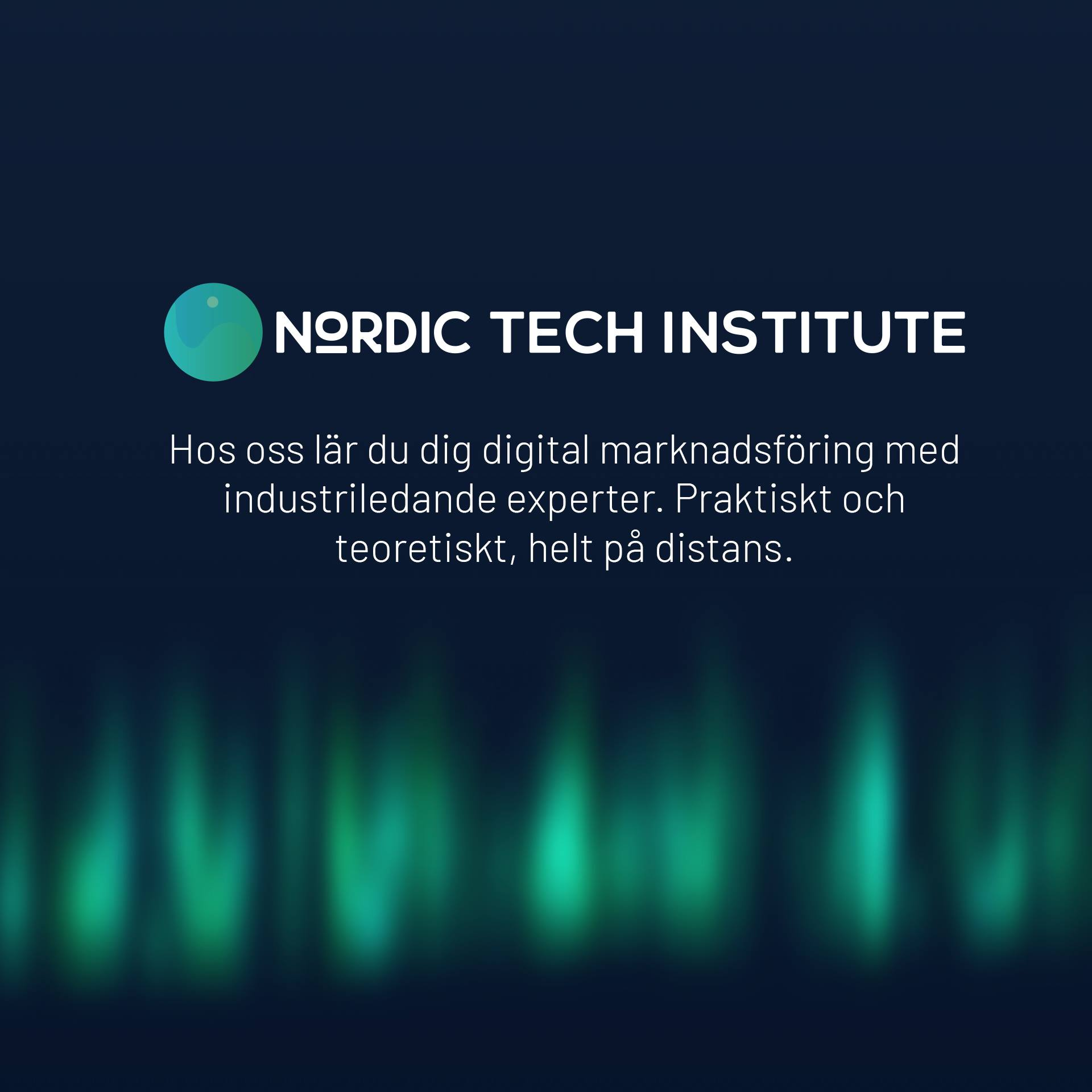Nordic Tech insitute cover