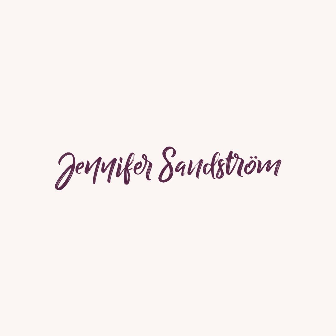Logotypen för Jennifer Sandström