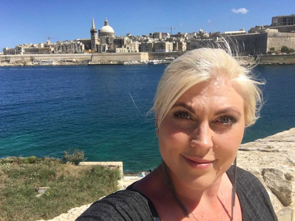 Sandra Backman selfie