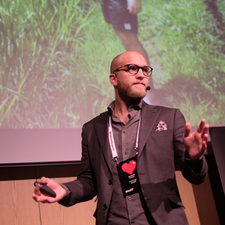 Christoffer Persson som talare på Internetdagarna