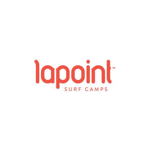 Lapoint logotyp mot enfärgad bakgrund