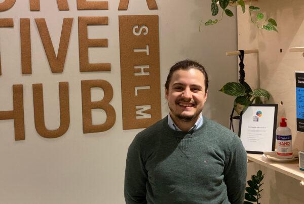 Sebastian Martinez på Creative Hub STHLM