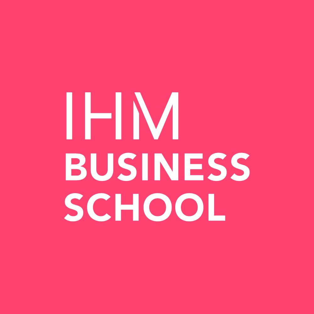 Logotyp för IHM Business School