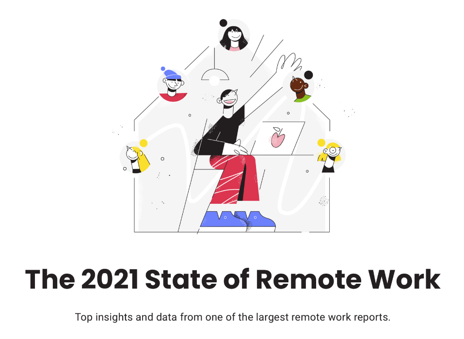 state of remote work 2021