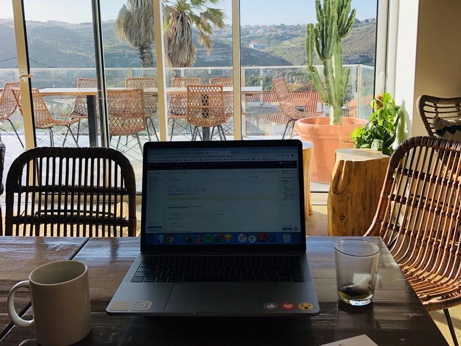 kontor i portugal