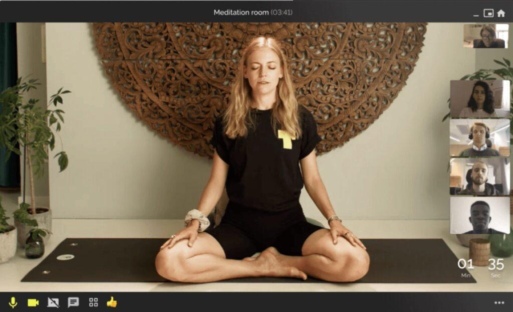 virtuellt meditation room